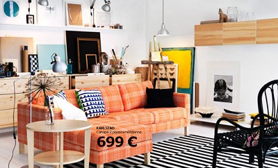 deco scandinave coloree
