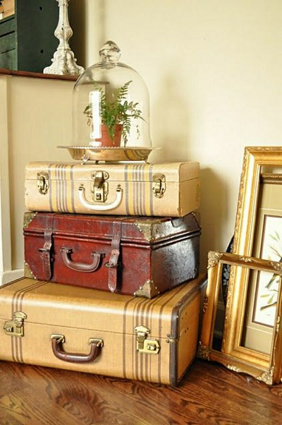 deco valise vintage. Black Bedroom Furniture Sets. Home Design Ideas