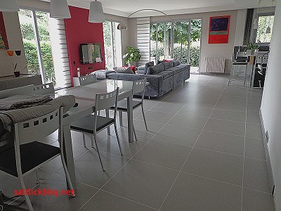 decoration avec carrelage gris anthracite