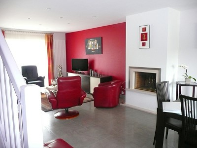 decoration avec carrelage rouge