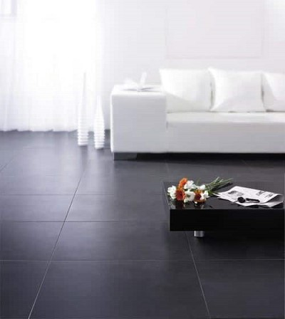decoration carrelage noir