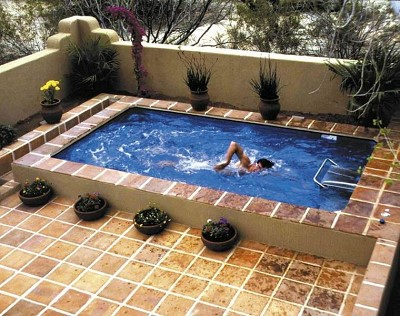 decoration carrelage piscine