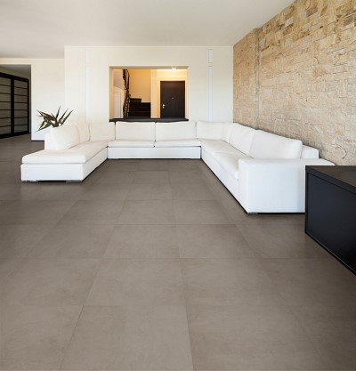 decoration carrelage taupe