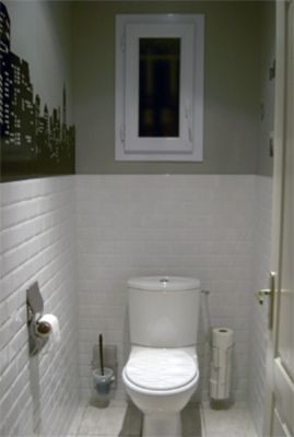 decoration carrelage toilette