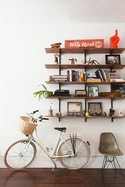 decoration etagere bois