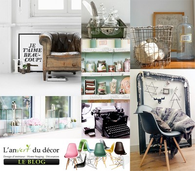 decoration in vintage style