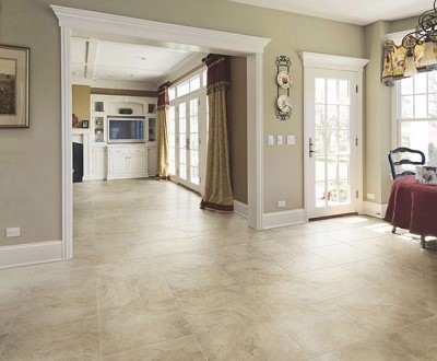 decoration interieur carrelage beige
