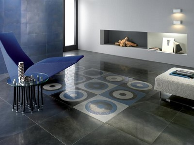 decoration interieur couleur de carrelage gris