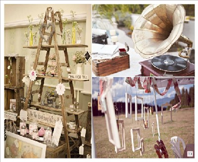 decoration mariage vintage chic