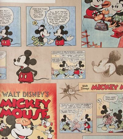 decoration mickey vintage