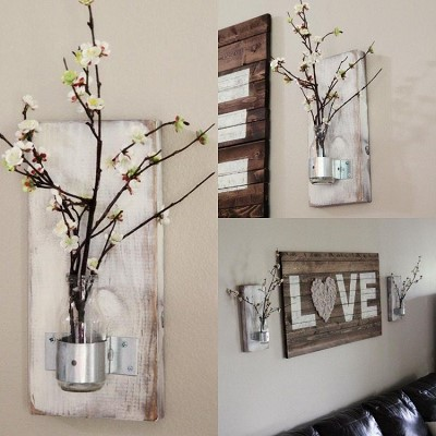 decoration originale bois
