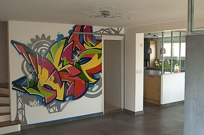 decoration peinture graffiti