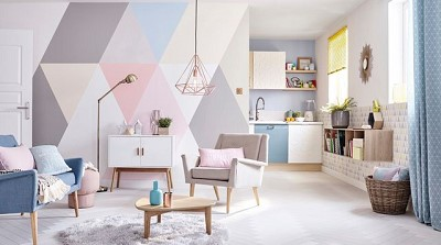 decoration peinture living