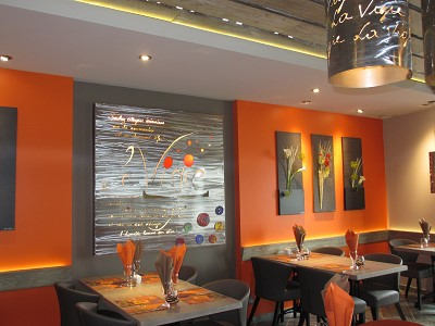 decoration peinture restaurant