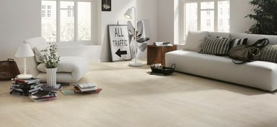 decoration salon carrelage beige
