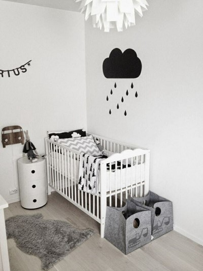 decoration scandinave chambre bebe
