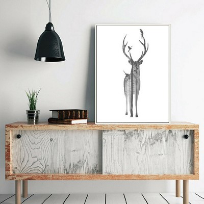 decoration scandinave tableau