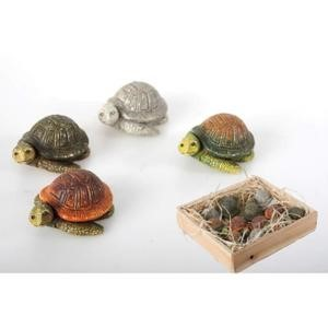 decoration tortue bois