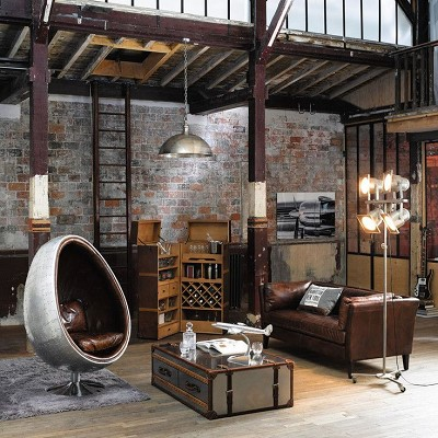 decoration usine vintage
