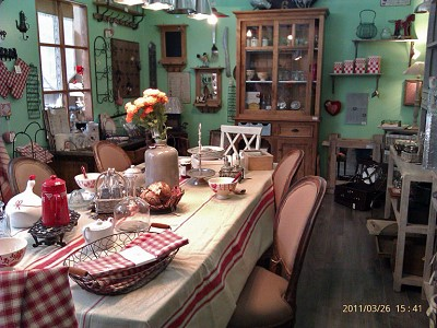 decoration vintage campagne