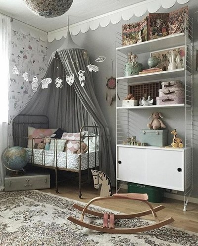 decoration vintage chambre bebe
