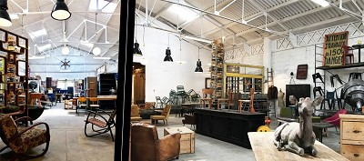 decoration vintage et industrielle