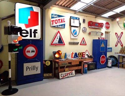 decoration vintage pour garage