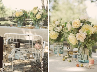 decoration vintage wedding