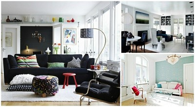 idee decoration salon scandinave