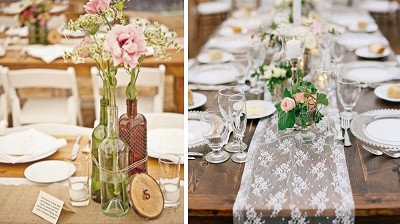 idee decoration table vintage