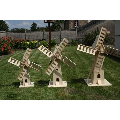 moulin bois decoration jardin